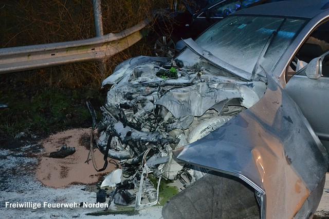 Schwerer Verkehrsunfall, 03.01.2013