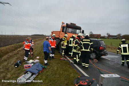 Schwerer Verkehrsunfall, 10.02.2015