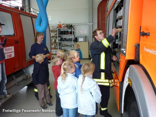 Ein Nachmittag bei der Feuerwehr, 29.07.2011