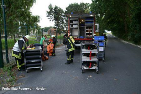 Gefahrstoffübung, 03.07.2012