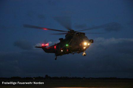 Hubschrauberlandung, 01.07.2014