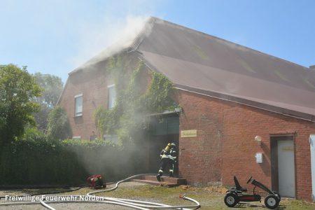 Gebäudebrand, 21.07.2015