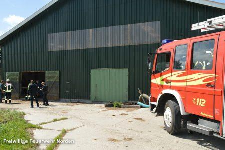 Feuer im Kuhstall, 09.07.2015