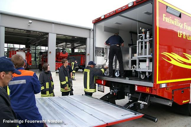 Ankunft des neuen Fahrzeuges, 10.06.2011