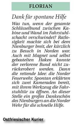 Ostfriesicher Kurier, 16.06.2011