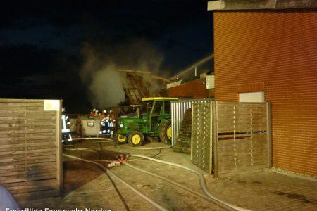 Gebäudebrand Westermoordorf, 18.06.2011