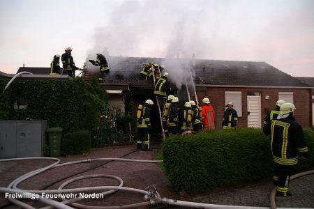 Gebäudebrand, 19.06.2012