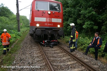 Hilfeleistung Bahn, 11.06.2012