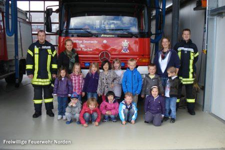 KiTa besucht Feuerwehr, 13.06.2012