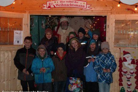 Weihnachtsfeier Löschzwerge, 07.12.2013