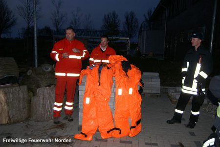 Überlebensanzüge, 29.03.2011