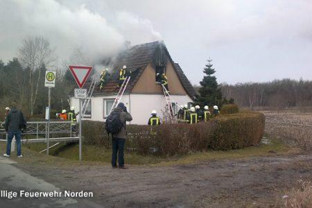 Gebäudebrand, 31.03.2013