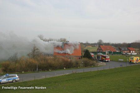 Gebäudebrand, 03.03.2014