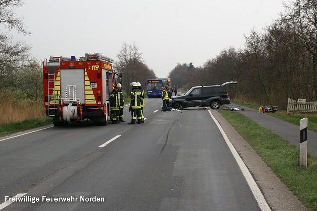 Verkehrsunfall, 18.03.2014