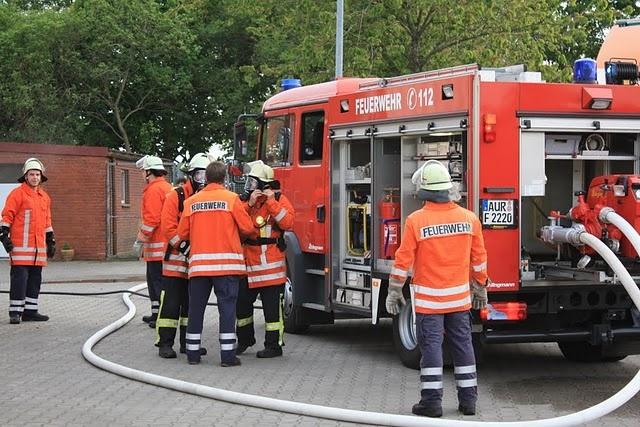Übung mit FF Osteel, 06.05.2011