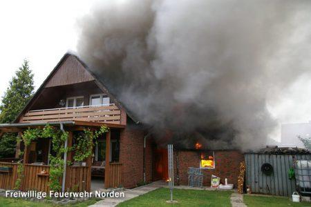 Gebäudebrand, 16.5.2011