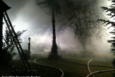 Gebäudebrand Halbemond, 16.05.2011
