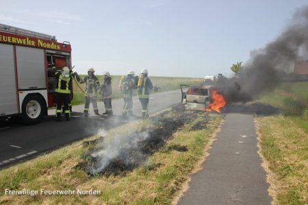 Auto am Geburtstag ausgebrannt, 22.05.2014