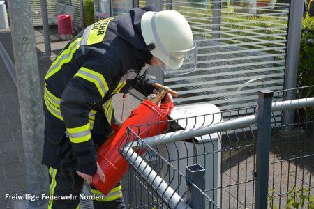 Mülleimerbrand, 17.05.2015