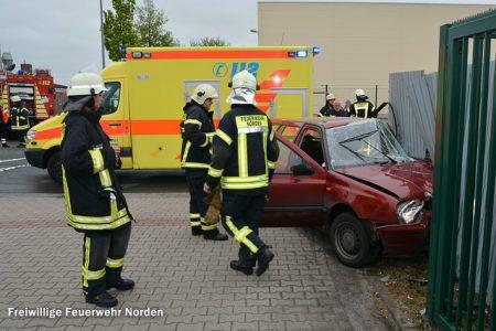 Schwerer Verkehrsunfall, 23.05.2015