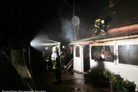 Gebäudebrand in Ostermarsch, 04.11.2013