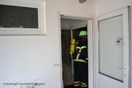 Küchenbrand in Ferienwohnung, 03.11.2014