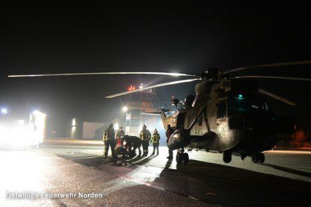 Hubschrauberlandung, 05.11.2015