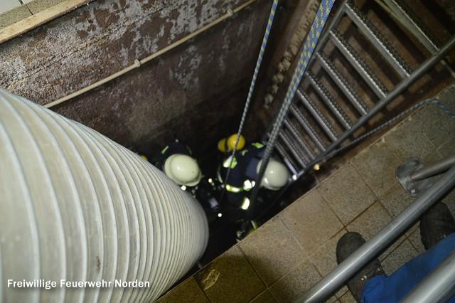 Übung in Pumpenstation, 04.11.2015