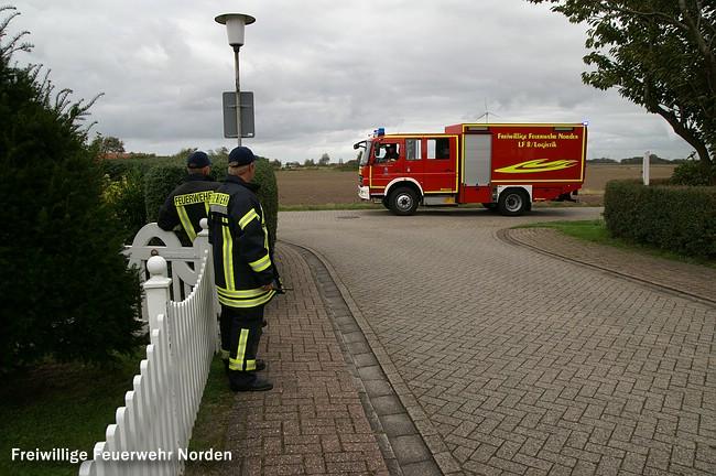 Evakuierung, 05.10.2011