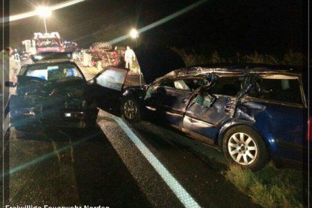 Verkehrsunfall in Osteel, 08.10.2013