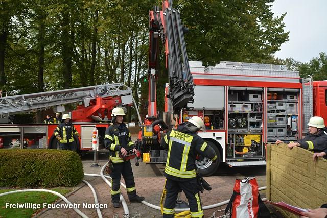 Dachstuhlbrand, 05.10.2015