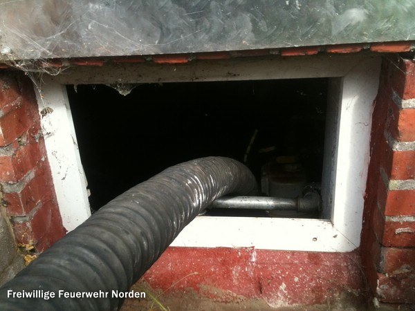 Keller unter Wasser, 09.09.2011