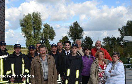 Angehörige besuchen Feuerwehr, 28.09.2013