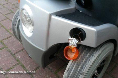 Schmorendes Elektromobil, 13.09.2014